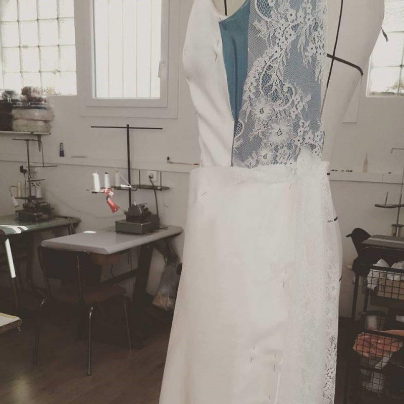 Les etapes de fabrication d'une robe de mariee2